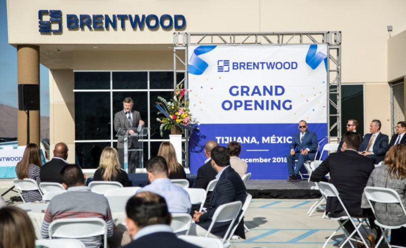 Brentwood Celebrates Grand Opening of Tijuana Manufacturing Facility, Announces Expansion Plans