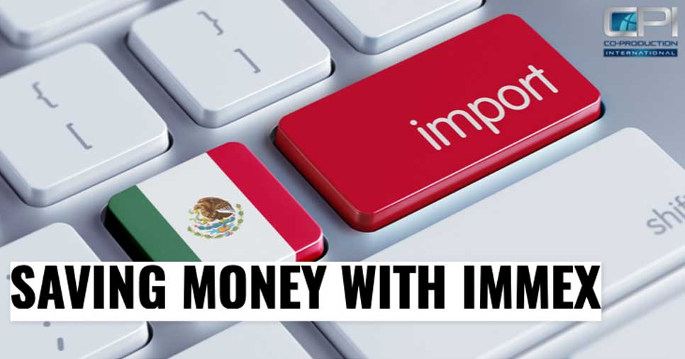 What are the IMMEX Program Categories for Manufacturing in Mexico?