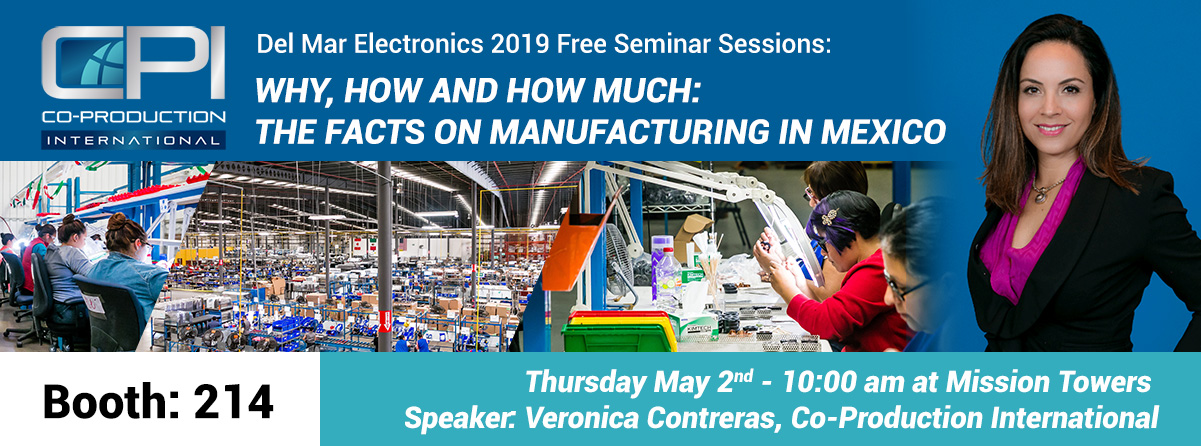 Veronica Contreras Manufacturing Mexico Del Mar Electronics