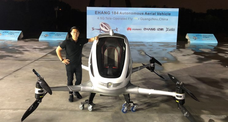 World´s first drone taxi