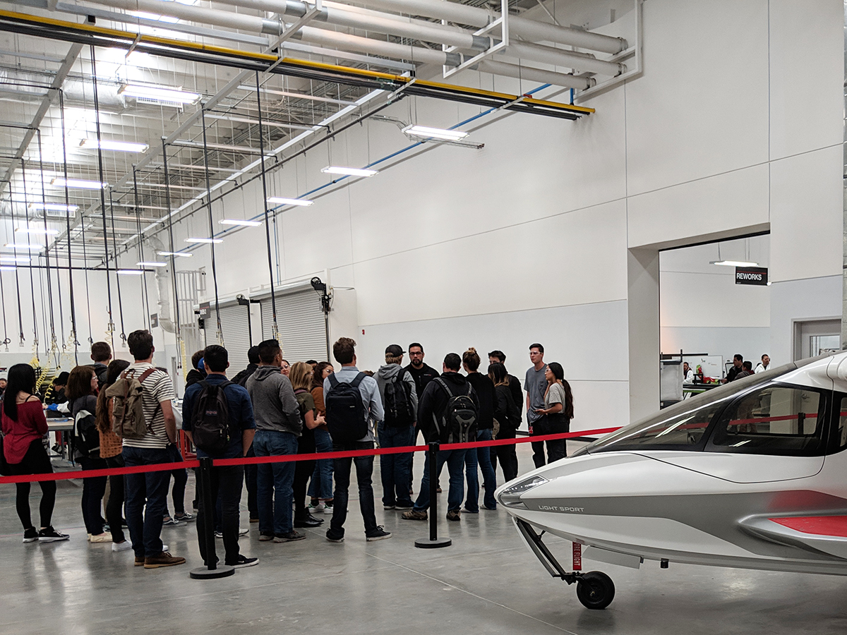 point loma students tijuana factory tour icon aircraft manufacturing web