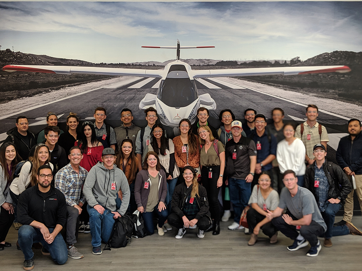 Co-Production International and ICON Aircraft Host Students from Point Loma Nazarene University for Manufacturing in Mexico Tour and Seminar